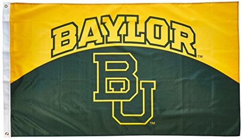NCAA Baylor Bears Flag with Grommets, 3 x 5-Feet