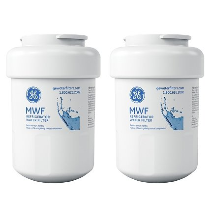 GE SmartWater MWFP Refrigerator Water Filter, 2-Pack from GE