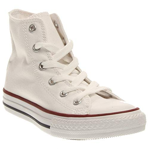 Converse Chuck Taylor All Star Canvas High Top Sneaker Optical White 12.5 M US Little Kid ()