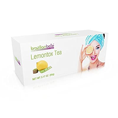 LemonTox Detox & Diet Tea - Weight Loss Skinny Teatox For Skin Health, Fat loss, Body Cleanse, Appetite Control & Overall Well-Being - 100% Natural Lemongrass Tea