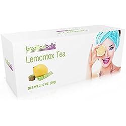 LemonTox Detox & Diet Tea – Weight Loss Skinny Teatox For Skin Health, Fat loss, Body Cleanse, Appetite Control & Overall Well-Being - 100% Natural Lemongrass Tea - Inspired by Lemon Detox Diet