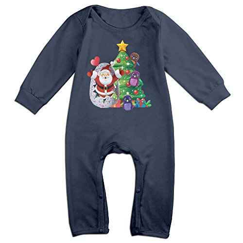 Chipmunks The Costumes And Babies Alvin For (VanillaBubble Christmas And Hatchimals 3 For 6-24 Months Boys&Girls Geek Romper Navy Size 12)