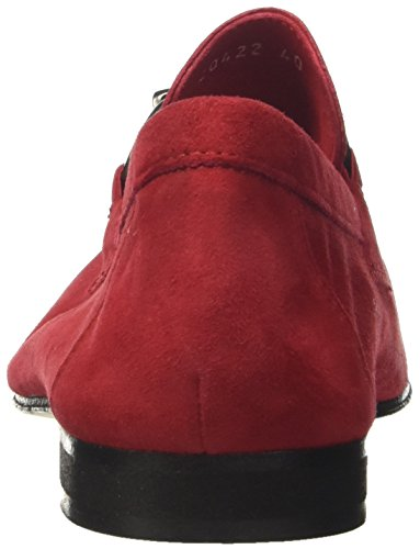 v07 Mocassins a Soldini rosso Homme 20422 Rosso Rouge aTFqW6n