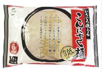 ほのか処理先史時代のいろいろ使える こんにゃく麺 (150g×3食)×6個