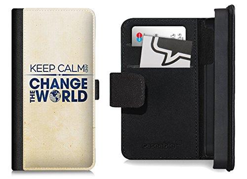Design Flip Case für das iPhone 6 Plus - ''Change The World'' von caseable