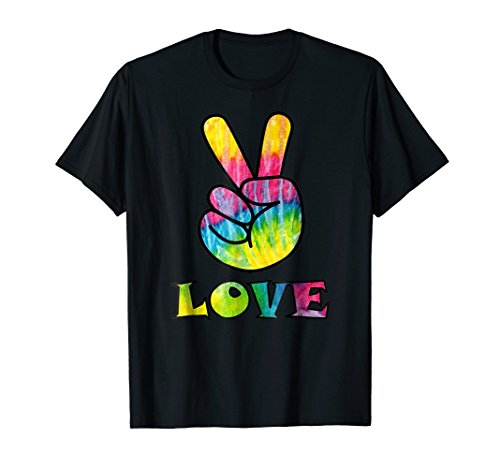 Tye Dye Peace Sign (Trippy Love Tye-Dye Peace Sign | Retro 60's Hippie)