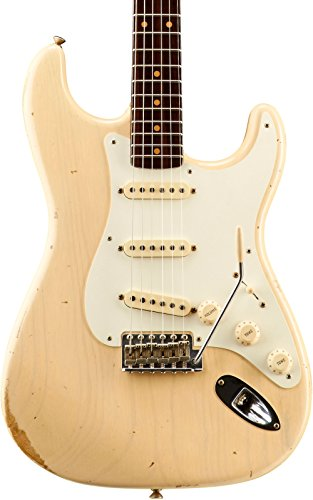 Fender Custom Shop Dual Mag Relic Stratocaster Rosewood Neck - Custom Built - Namm Limited Edition Vintage Blonde