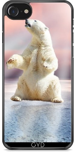 Coque pour Iphone 7 / Iphone 8 (4,7 '') - Ours Polaire Glacée Animale by WonderfulDreamPicture