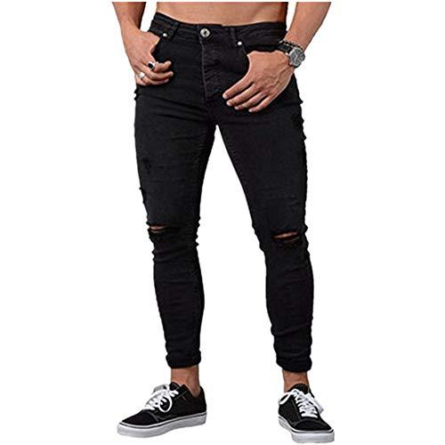 Jeans Classique Tailles Toutes Jean Standard Coupe Élégant Noir Homme Hommes Droite Kayley UBFqRfZq