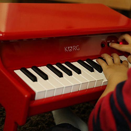 Korg tinyPiano Digital Toy Piano - Red by Korg (Image #13)