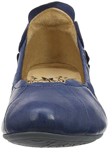 Think! Tror! Dame Balla_282161 Geschlossene Ballerinas Blau (capri 89) Damer Balla_282161 Lukkede Ballerinaer Blå (capri 89) IVwMto