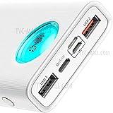 BASEUS AMBLIGHT 4XUSB & USB-C POWER BANK - 30000MAH