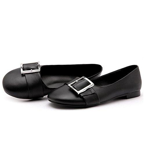 Alrededor de Fondo ZFNYY Ocio Viento Zapatos Boca Zapatos de Ayuda de Estudiante de Plano Universitario Baja Baja de de Femenina 0wvSr0q