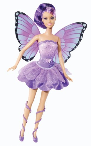 Barbie Mariposa and The Fairy Princess Friends Doll, Purple