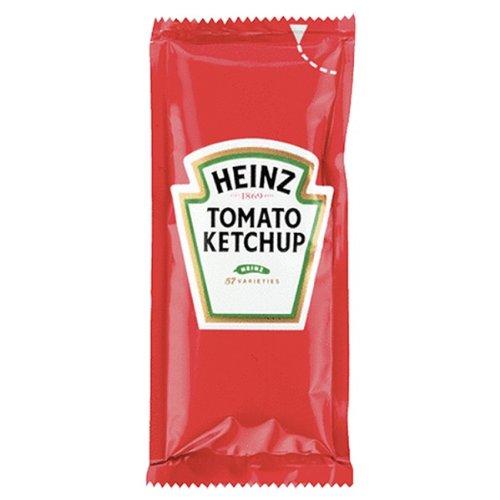 Heinz Tomato Ketchup 50x11gram Sachets