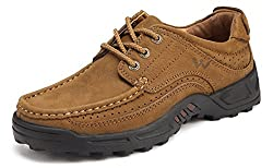 Men Shoes-Casual Walking Shoes For Formal Outdoor Activeties-Breathable Sport Lace Up Leather Shoes-Comfort, Fashion 7