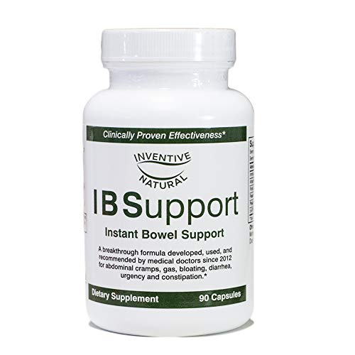 IBSupport: The IBS Breakthrough Formula for Relief & Support of Irritable Bowel Syndrome, 90 capsules