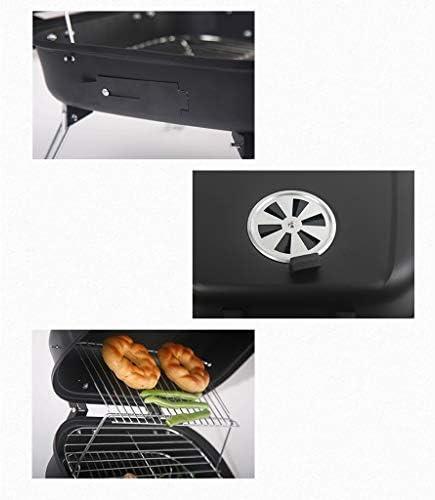 Barbecue au charbon de bois camping en plein air barbecue maison portable four à charbon de bois