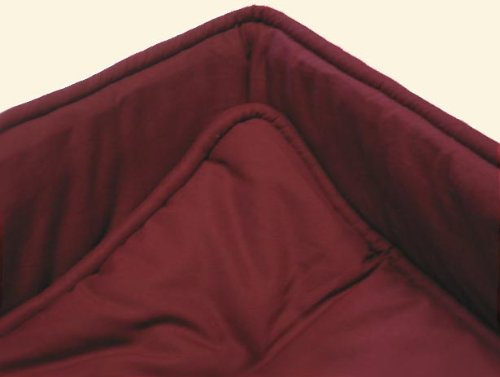 SheetWorld Cradle set - Solid Burgundy Cradle Set - Made In USA