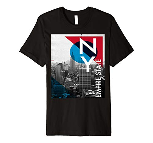 NY EMPIRE STATE BUILDING GRAPHIC T-SHIRT