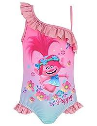 7873b277fe Trolls Girls' Poppy Swimsuit Pink