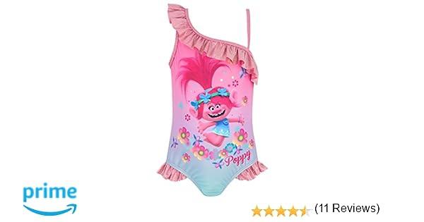 10f3297dc5 Trolls Girls' Poppy Swimsuit Pink: Amazon.ca: Clothing & Accessories