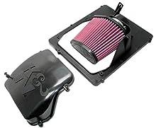 K&N 57S-4900 Kit de Admisión de Rendimiento Coche, Lavable y Reutilizable