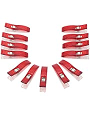 Multipurpose Sewing Accessories Plastic Clips for Sewing,Quilting,Crafting, Crocheting and Knitting Safety Clips