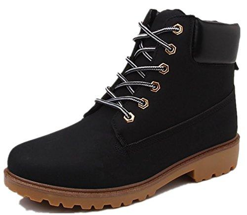 in formato allacciano le dimensioni 46 in grande pelle Mocassini particolare casual da di di Nero Bebete5858 uomo grandi scarpe taglia OxWz776