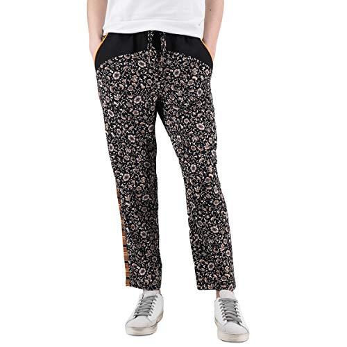 Scotch & Soda   Printed Colourblocked Jogger Pants Black   S&S_149916_61 - S (Soda Joggers)