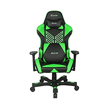 Crank Series Onylight Edition World s Best Gaming Chair Black Green Racing Bucket Seat Gaming Chairs Computer Chair Esports Chair Executive Office Chair w Lumbar Support Pillows