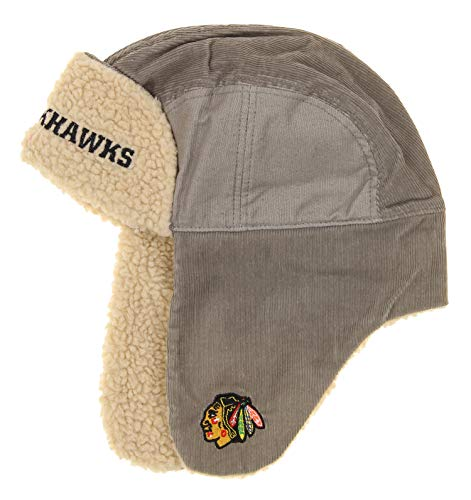 Chicago Blackhawks Trooper Hat Reebok Face Off Collection NHL Official (Mens Reebok Hats)