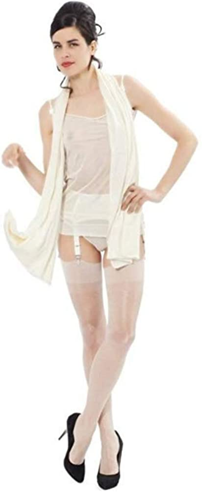 1920s Rolled Stockings & Trendy Tights  100% silk stockings Cervin Womens Champs Elysees $58.95 AT vintagedancer.com