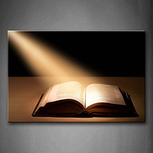 First Wall Art - The Holy Bible Wall Art Painting The Picture Print On Canvas Religion Pictures For Home Decor Decoration Gift by Firstwallart
