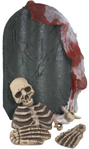 Bones & Cloth Rounded Cementary Tombstone Kit Prop