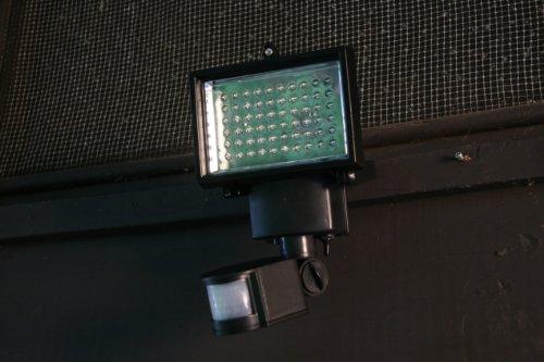 sunforce 80 led solar motion light user manual