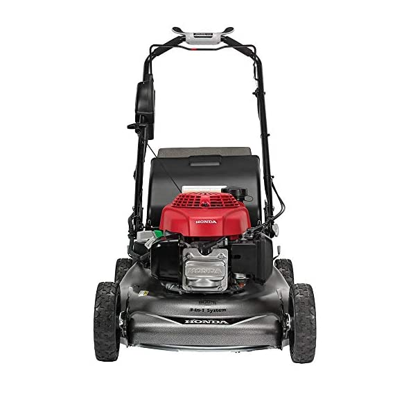 """Honda HRR216VYA 21'' 3-in-1 Self Propelled Smart Drive Roto-stop Lawn Mower with Auto Choke and Twin Blade System 7 Honda HRR216VYA 21"""" 3-in-1 Self Propelled Twin Blade Mulching Lawn Mower"""