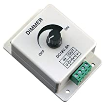 12V 8A PIR Sensor LED Strip Light Cakaco Switch Dimmer Brightness Controller