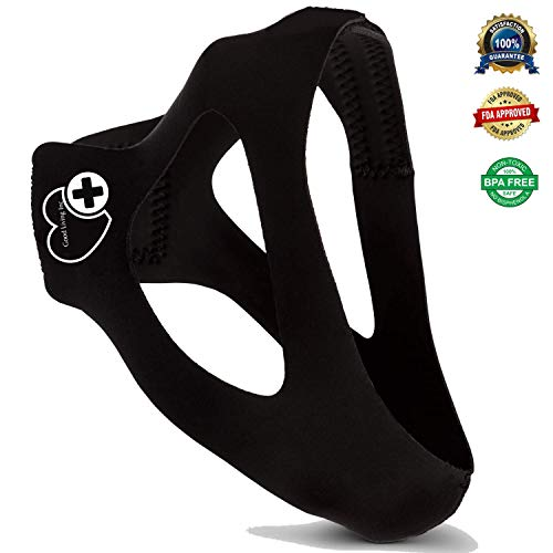 Industry Leading Anti Snoring Chin Strap - Effective CPAP Chin Strap for Snoring - High Quality Snore Strap & Sleep Chin Strap - Snoring Aid & Anti Snore Chin Strap for Men & Women