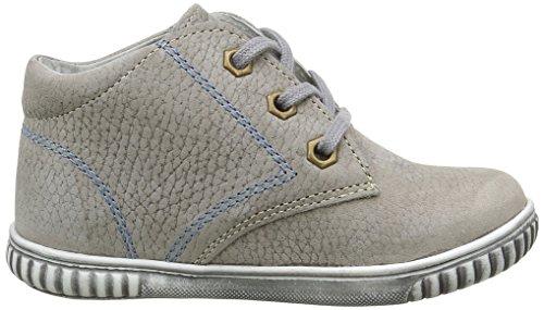Minibel Lewis - Zapatos de primeros pasos Bebé-Niñas Gris - Gris (13 Taupe)
