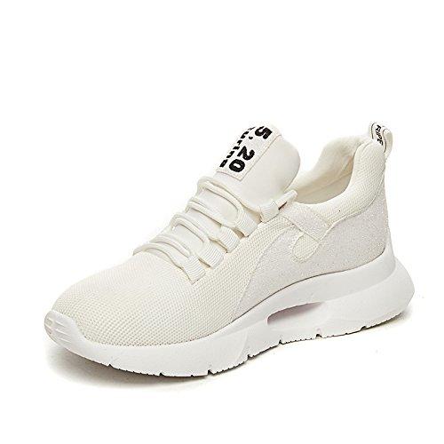 Zapatos amp;G Deportivo Casual Mujer De De Calzado De Mujer NGRDX Zapatos Punto Deportivo White Calzado XqAwvfd