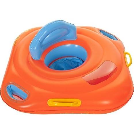 En forma de asiento Flotador de natación Anillo de baño ayuda Nabaiji color Deluxe 11-15 kg: Amazon.es: Deportes y aire libre