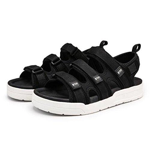 Blackwhite ZHONGST Uomo da Outdoor Casual Sandali Shoes Beach Sandali Trend Pantofole E Estivi OBOwgq