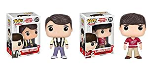 Funko POP Movies Ferris Bueller's Day Off: Ferris Bueller and Cameron Frye Toy Action Figure - 2 Piece BUNDLE