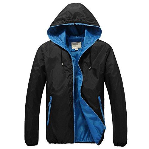 Boys Lightweight Hooded Jacket - 1