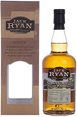 Jack Ryan 12 Years Old Finca Museum Rioja Single Malt Irish Whiskey 58.1% Vol. 0.7L In Giftbox - 700 ml