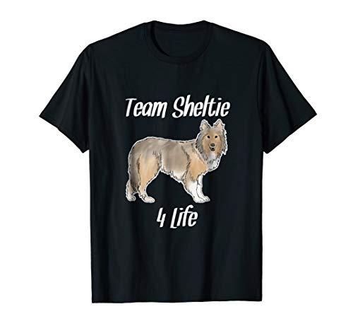 Shetland Sheepdog Team Sheltie for Life Tee Shirt Dog