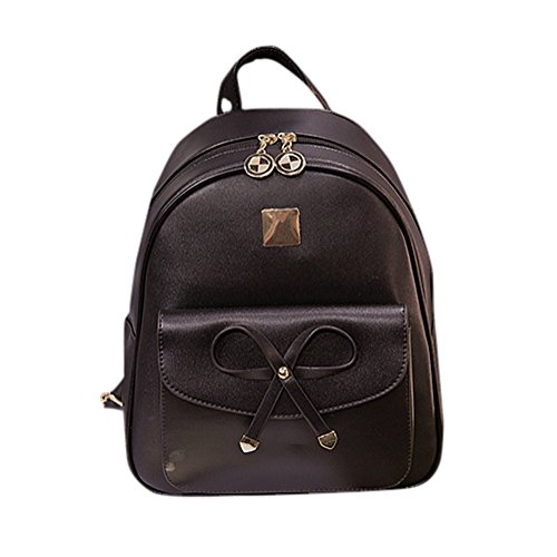 Remeehi - Bolso mochila  para mujer, negro (negro) - JXQ01953-2