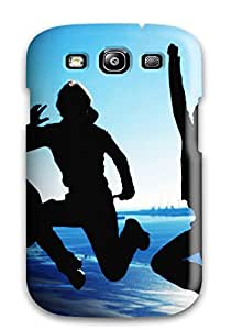 Slim Fit Tpu Protector Shock Absorbent Bumper Happy Friendship Day Case For Galaxy S3