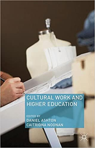 Cultural Work and Higher Education